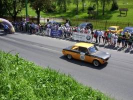 Raliu la Brasov: Imagini de spectator de pe Drumul Poienii (video)
