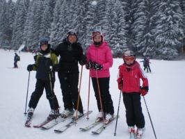 Schi alpin, echilibru si control perfect al emotiilor
